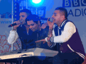 London Mela 2011 with Jay-Sean, Richi Rich, Juggy D
