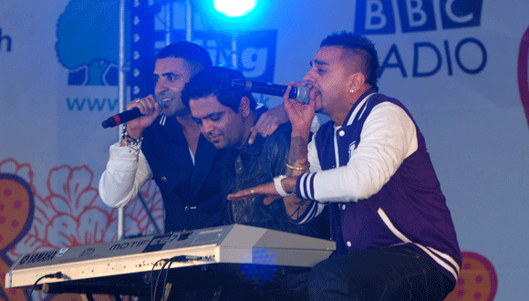 London Mela 2011 with Jay-Sean, Richi Rich & Juggy D